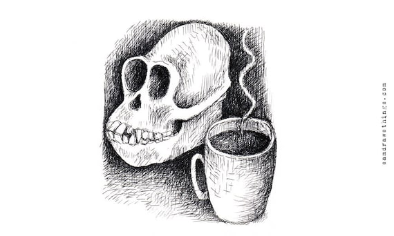 Skull and a Cuppa