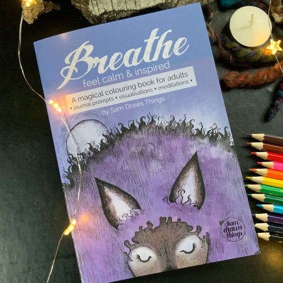 DOWNLOAD - Breathe: A colouring book for calm and inspiration - printable version