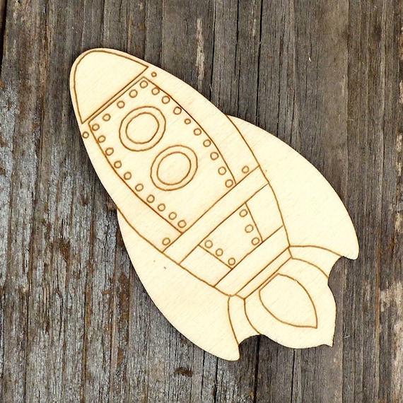 10x en bois Poppy Flower Comic Craft Shape 3 mm Ply fleurs arbres