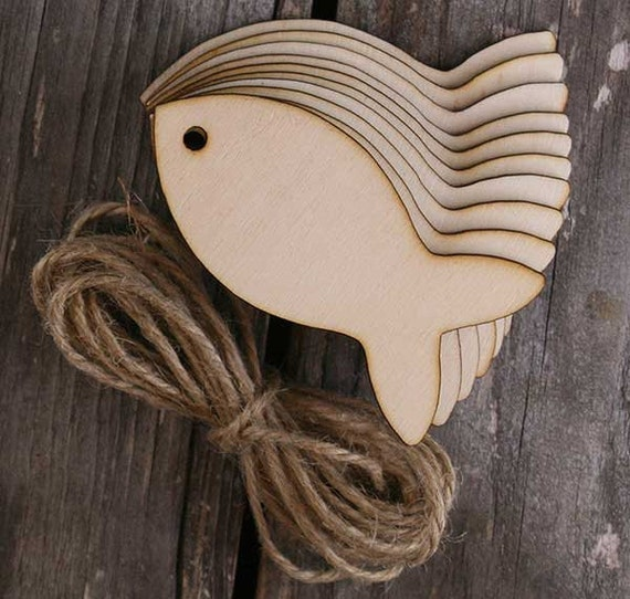 Single 7.5cm Wooden Bird Shape for Decorative CraftsWooden Shapes for Crafts