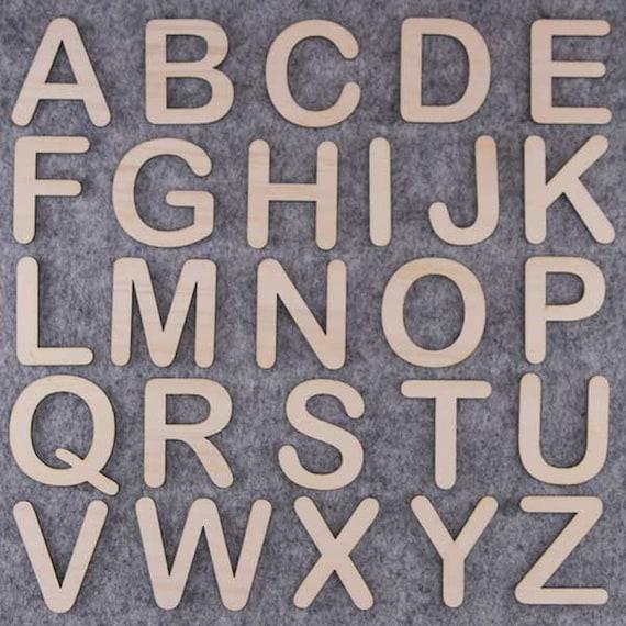 Victorian police en bois lettres /& chiffres alphabet lettres /& chiffres 3mm d/'épaisseur
