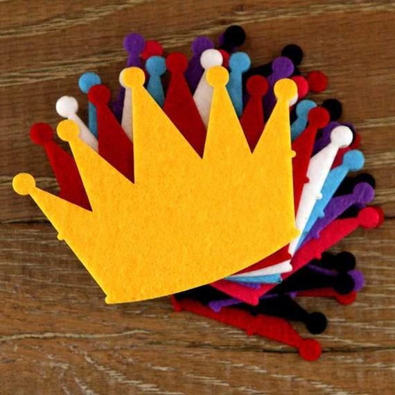 10x 3mm Felt Baby Feet Craft Shapes Sizes 6-15cm 11 Colours