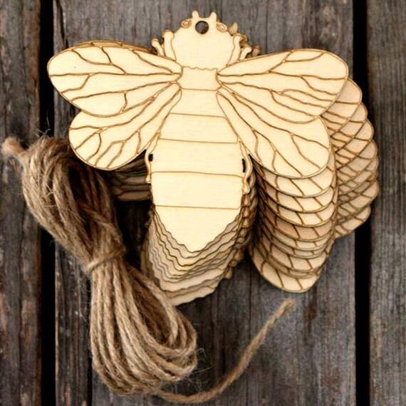 10x de madera simple mariposa estilo e CRAFT formas 3mm contrachapado de insectos y vida silvestre