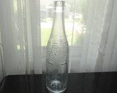 WWII 1940 39 s Pepsi Duraglas DES. PAT. 120 277 14A 42 3 2 Owen Illinois Embossed Glass Bottle