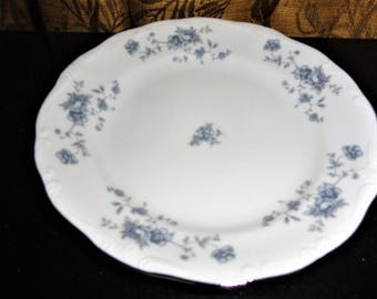 Vintage Johann Haviland China Corporation Blue Garland Traditions Fine China Victorian Style Bread & Butter Plate