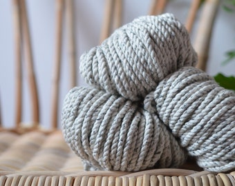 Oyster, Macrame sparkle grey cord, cotton rope, macrame rope, cotton cord 5 mm, macrame cord, 5mm cotton twisted rope, cotton rope macrame