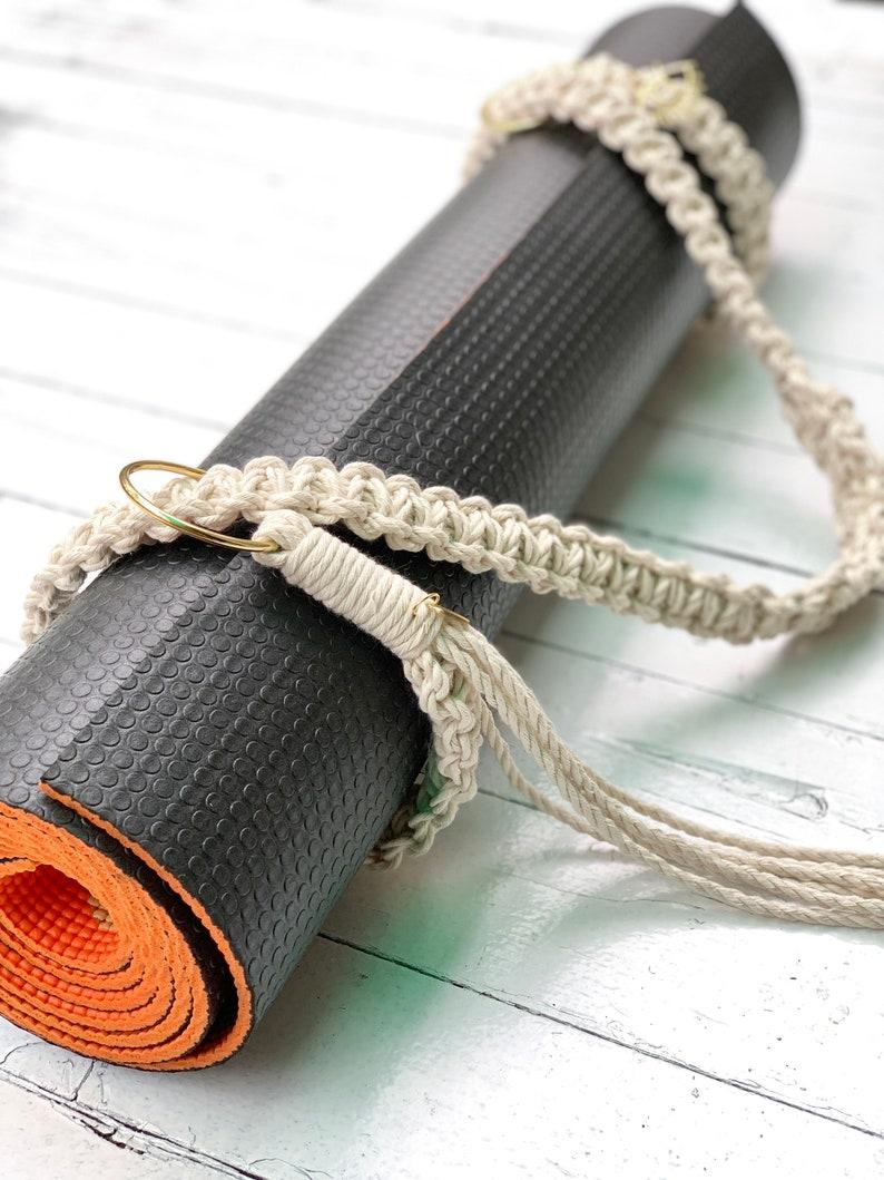 Sesame yoga mat strap yoga strap carrier yoga mat sling image 0