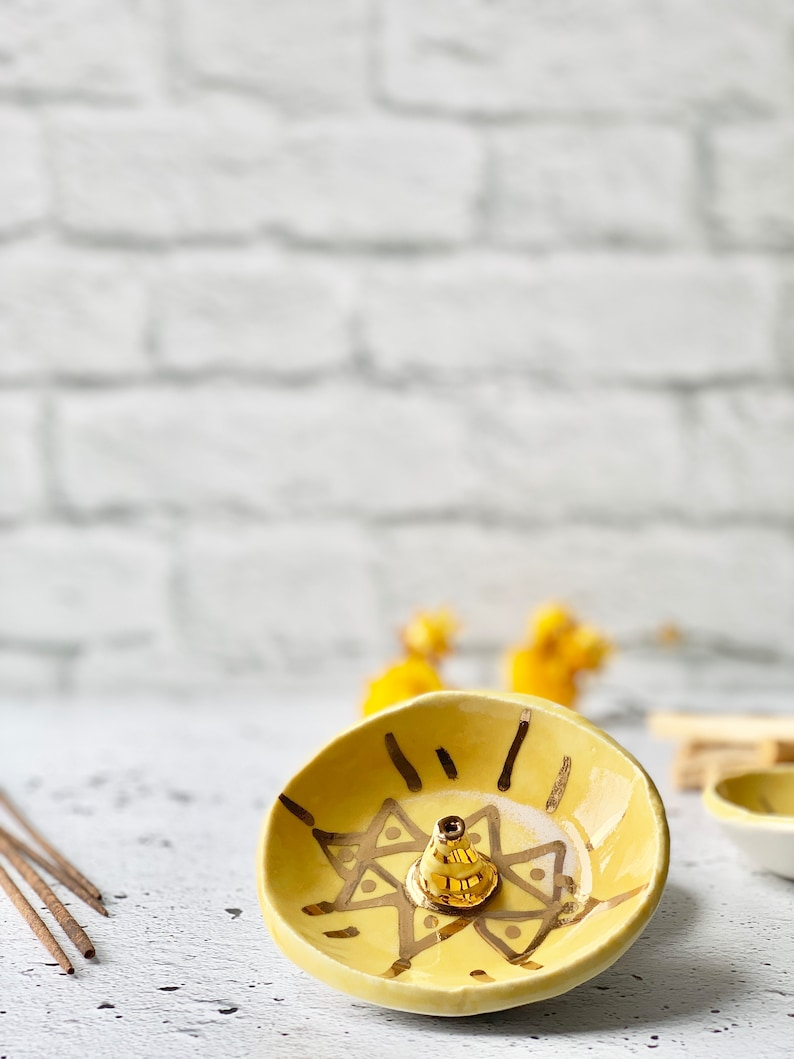 Incense holder dandelion third eye incense stick energy image 0