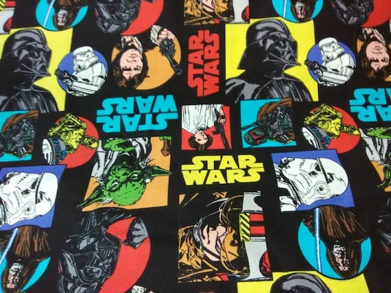99be40ca6fd Star Wars Fabric 100% Cotton for Clothing Crafts Quilting