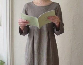 LINNET Pattern / No.34 Box Pleats Dress