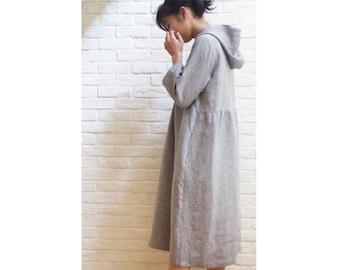 LINNET Pattern /  No.120 Hoodie Dress