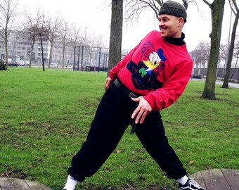 Iceberg Disney Donald Duck sweater size M/L 90s