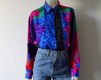 Colorful Blouse Size 40