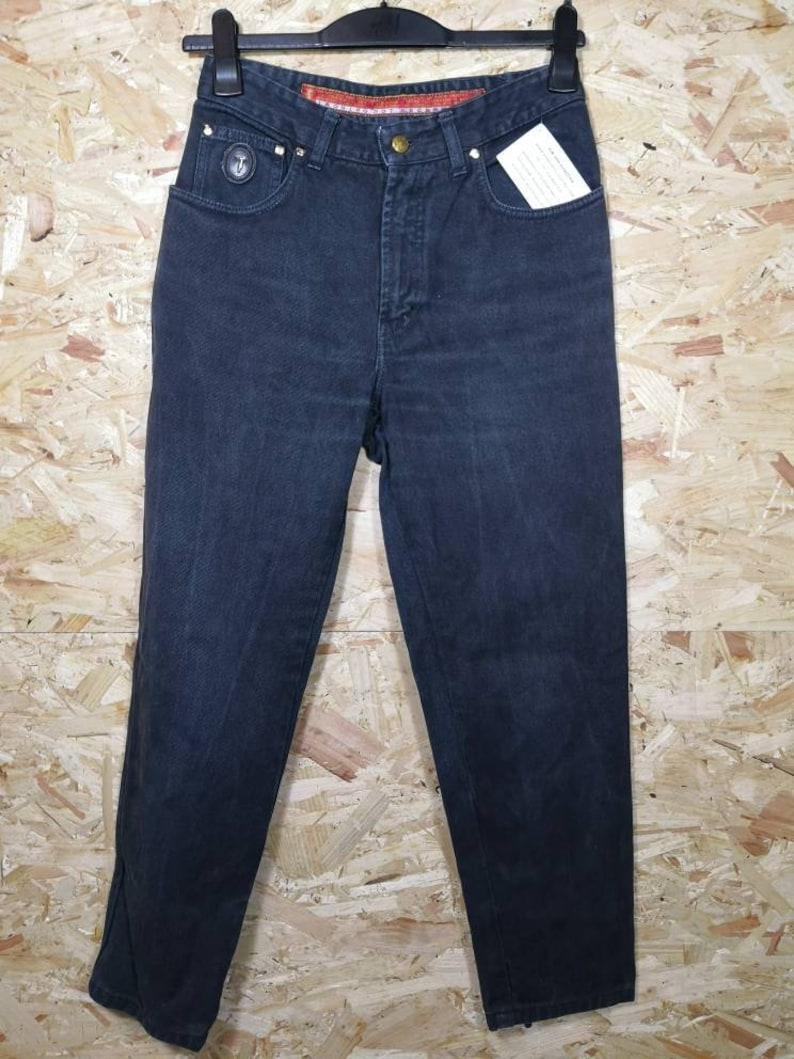Trussardi High waist jeans Momjeans size 32