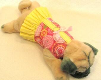PINK LEMONADE Dog Harness Dress Size XSmall