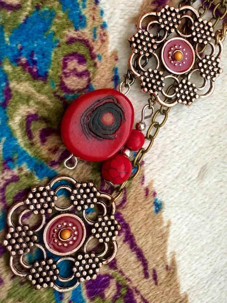 Indian Jewelry Banjara Necklace German Silver Tribal Boho