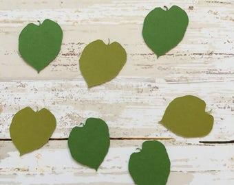 Basswood Leaf Confetti & Vinyl Stickers