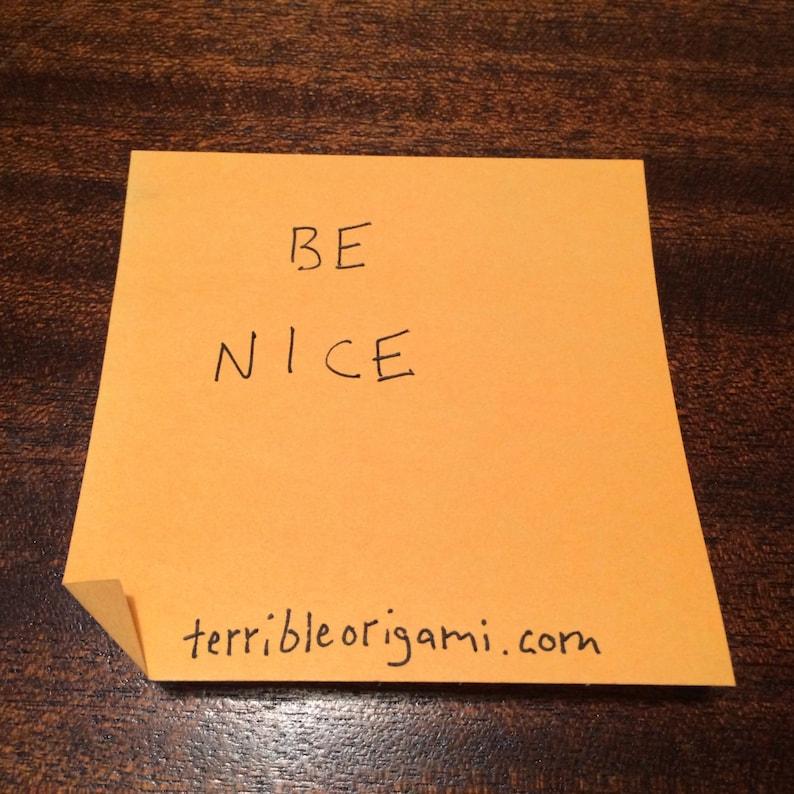 Support Sticky Note