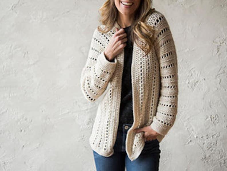 b3d01253f3800 Sporty One-Piece Crochet Cardigan Pattern