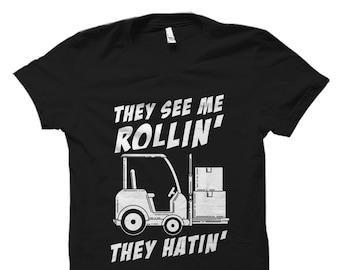 44d46993c47 Funny Forklift Shirt