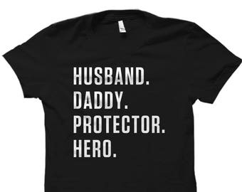Clothing Fathers Day Shirt Daddy Gift Daddy Shirt Fathers Day Gift Husband Shirt Daddy Shirt Dad Gifts Husband Daddy Protector #OS733
