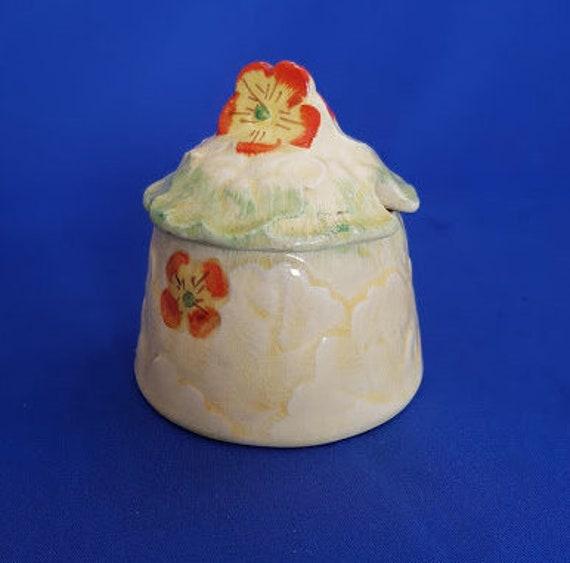 Cookie Jar Bg Adorable Kensington KPH Ware Jam Preserve Pot Jar C60 60 Primula Etsy