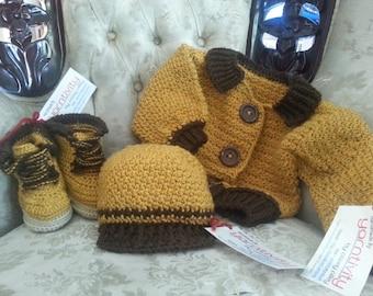 Little Man Series Crochet Pattern Set by Yarntivity *PATTERN ONLY*