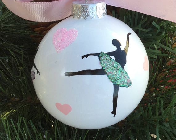 Ballet Christmas Ornament - Personalized Dance Ornament