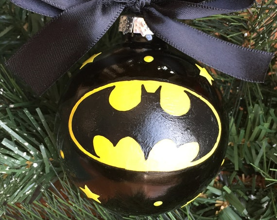 Personalized Batman Christmas Ornament