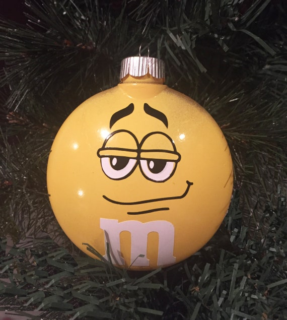 Personalized M & M Candy Ornament