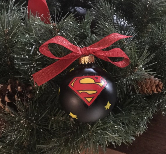Personalized Superman Christmas Ornament