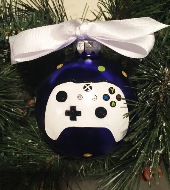 Personalized Game Controller Christmas Ornament - Xbox Controller Ornament - Christmas Ornament for Gamer