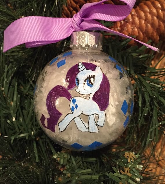 Personalized Rarity Inspired Shatterproof Ornament