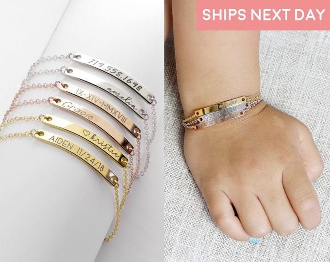 Personalized Bracelets for Kids