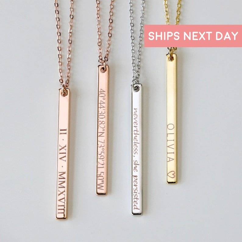 Personalized Necklaces For Women Graduation Necklace Custom Necklace Engraved Necklace Name Necklace Mothers Day Personalized Gift 13n