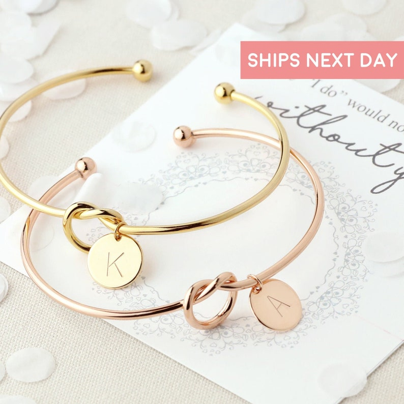 2 To 8 Bulk Will You Be My Bridesmaid Gift Bridesmaid Bracelet image 1