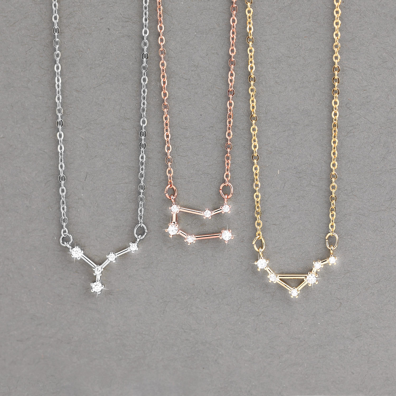 72b6defd38049 Zodiac Jewelry Celestial Personalized Jewelry Best Friend Gift ...