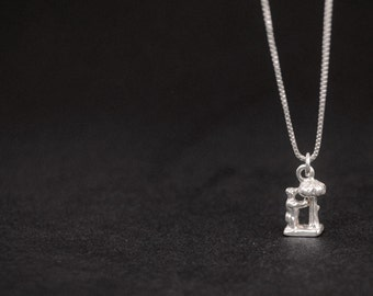 Sterling silver pendant, Madrid