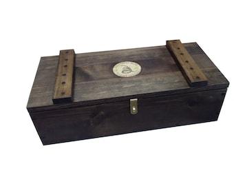 Wood Ammo Box Etsy