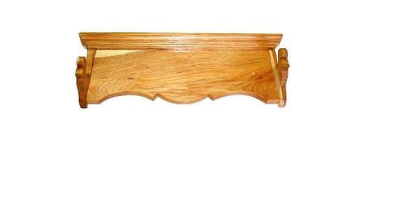 hickory bois unique canon porte fusil fusil de chasse mont etsy. Black Bedroom Furniture Sets. Home Design Ideas