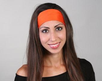 Headband in Orange Crush
