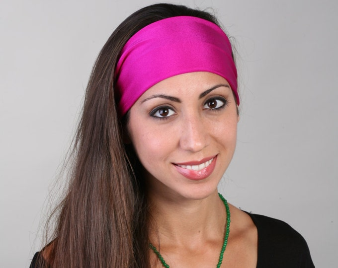 Headband in Fuchsia