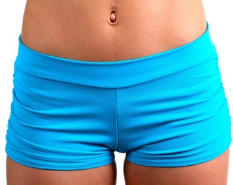 Isabella Shorts in Tamara Teal