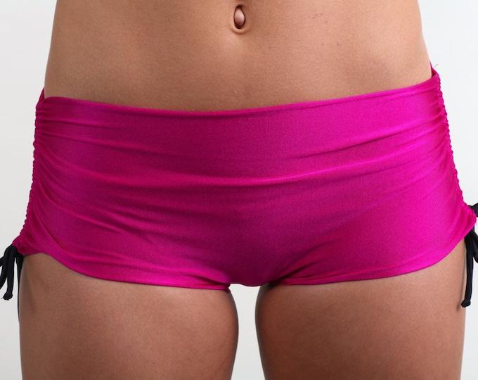 Bikini Shorts in Celine Fuchsia