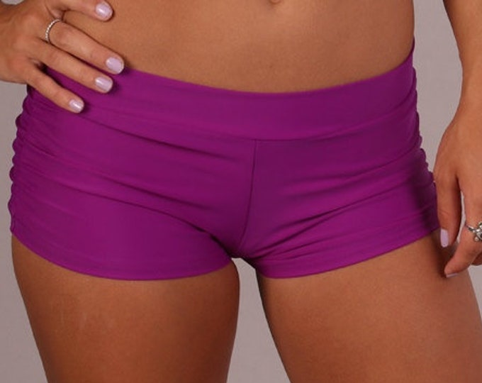 Isabella Shorts in Purple Patrice