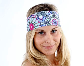 Women's Headband, Workout Headband, Fashion Headband, in Kaliape Get 4 for 20 Dollars