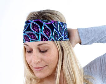 Women and girls floral yoga, fitness, running and workout headband, in Trixie Get 4 for 20 Dollars