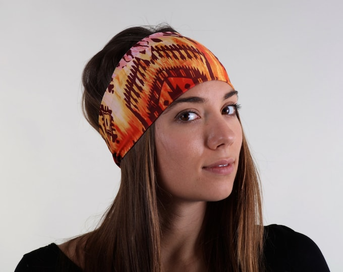 Women and girls print yoga, fitness, running and workout headband, in Shiloh Get 4 for 20 Dollars