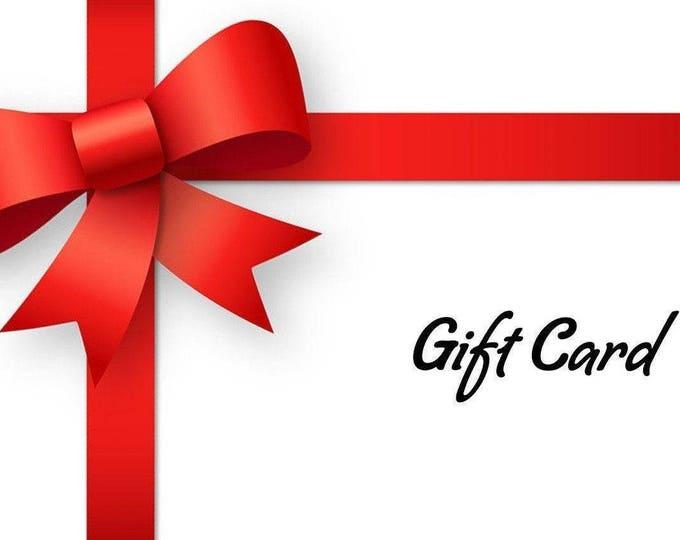 Gift Card, Printable Gift Card, Gift Voucher, Gift Certificate, Gift Card Holder, Gift For Her, Birthday Gift, Printable Gift Card, Voucher