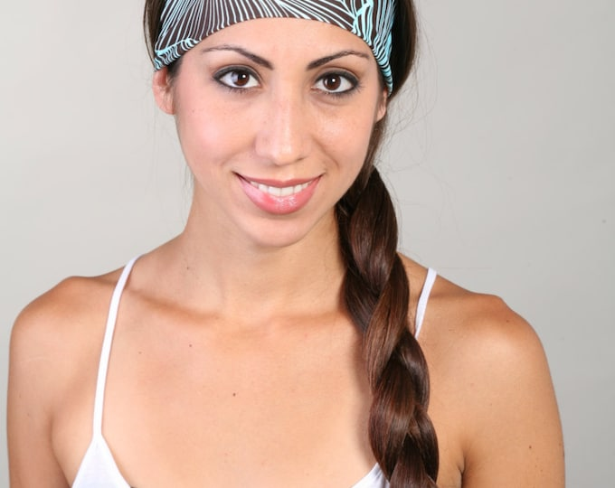 Fitness Headband, Yoga Headband, Work Out Headband, Running Headband, Fashion Headband, Get 4 For 20 Dollars in Sienna Palms
